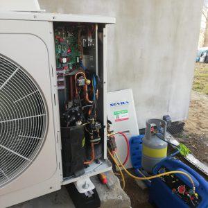 Pompa ciepła Sevra 10 KW (2)